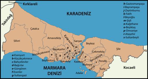 İstanbul'un Arsa Değeri En Yüksek 10 İlçesi