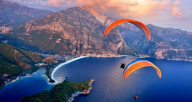 Oludeniz is one of the most popular bays in the world